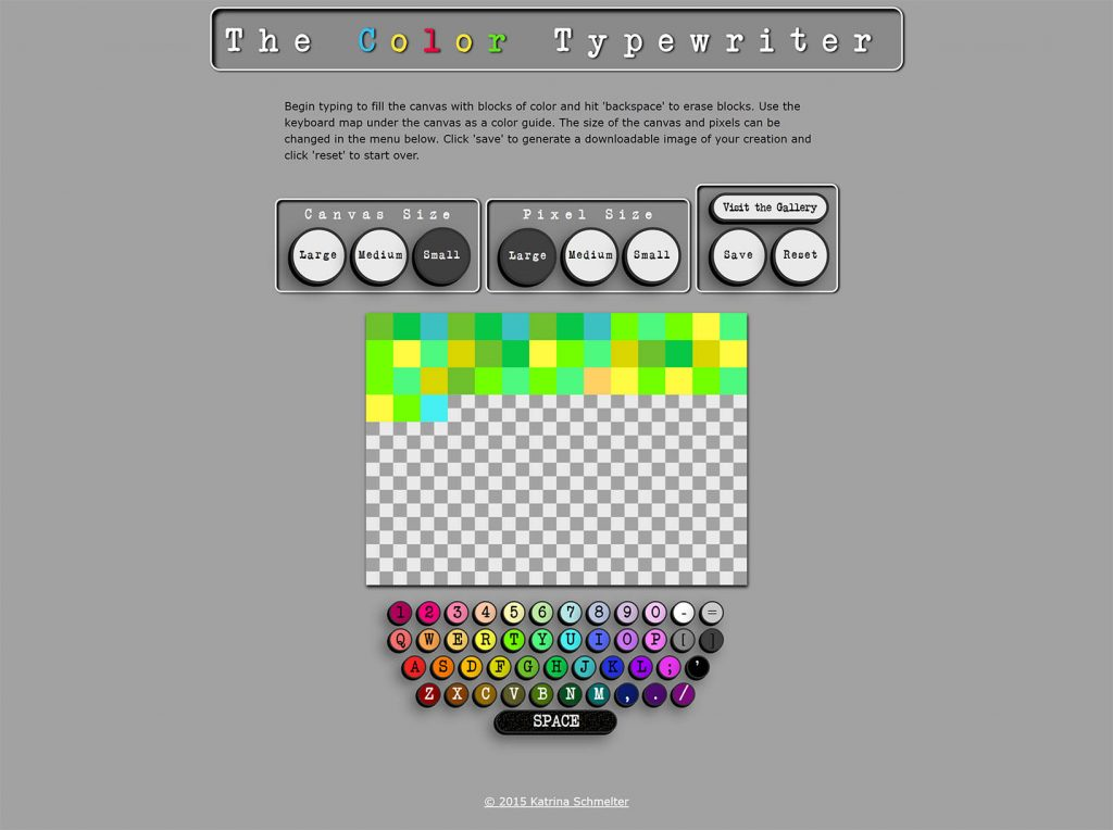 The Color Typewriter